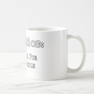Politics: Show Biz For Ugly People coffee mug
