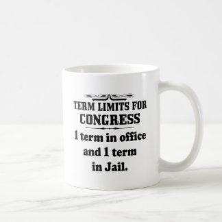 Politics: Term Limits For Congress Mug