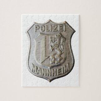 Polizei Mannheim Jigsaw Puzzle