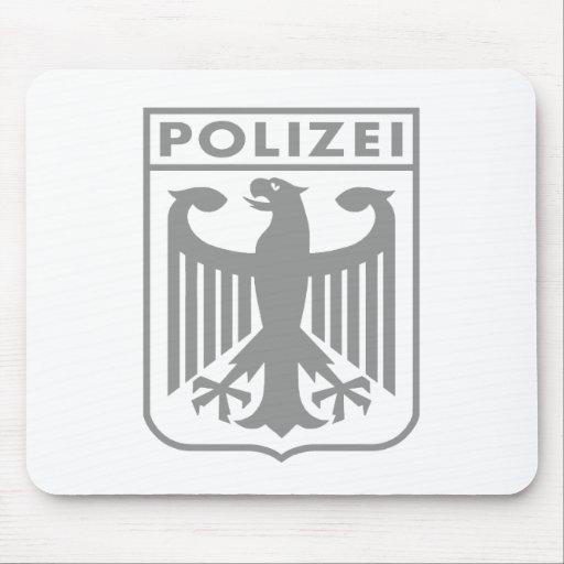 Polizei Mouse Pad