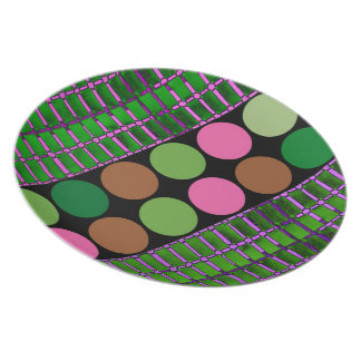 Polka Dot Abstract, Design Plates