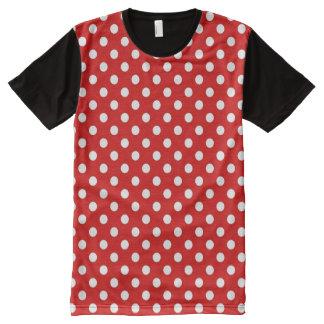 Polka dot background All-Over print T-Shirt