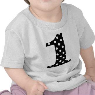 Polka Dot Black and White One Shirt