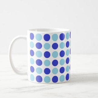 Polka Dot Blues Coffee Mug