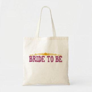 Polka Dot Bride To Be Bag
