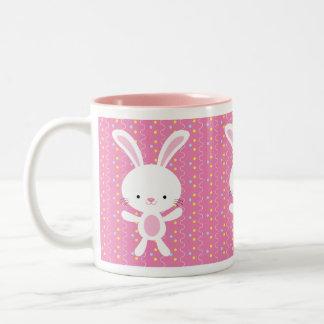 Polka Dot Bunny Mug