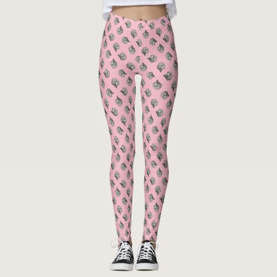 Polka Dot Cats Leggings
