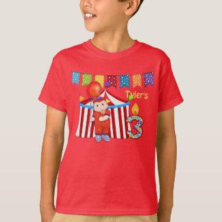 Polka Dot Circus Third Birthday T-Shirt