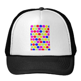 Polka dot, Colors set 1 Trucker Hats