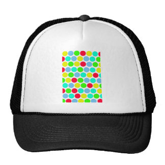 Polka dot, Colors set 3 Trucker Hat