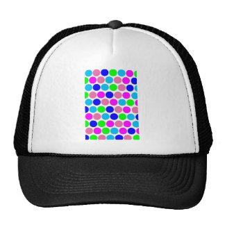 Polka dot, Colors set 4 Trucker Hats