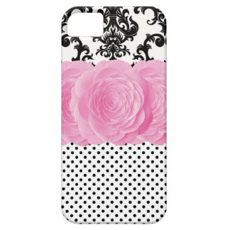 Polka Dot Damask iPhone 5 Case