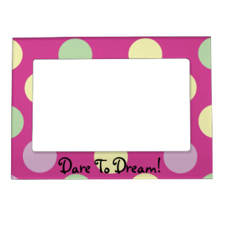 Polka Dot Dreams Magnetic Picture Frame