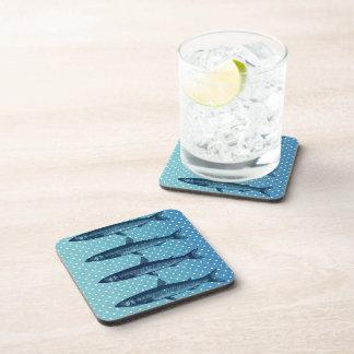 Polka Dot Fish II Drink Coasters