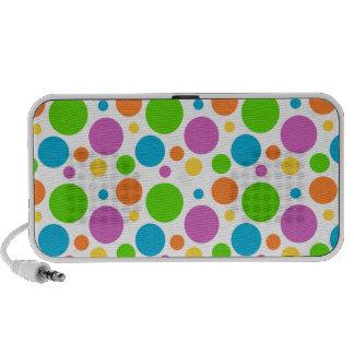 Polka Dot Image Notebook Speaker