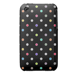 Polka dot Iphone4s case iPhone 3 Case