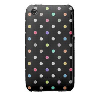 Polka dot Iphone4s case iPhone 3 Case