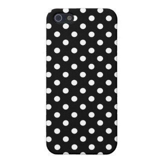 Polka Dot iPhone 5/5S Case in Black and White