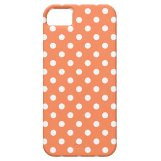 Polka Dot iPhone 5/5S Case in Nectarine
