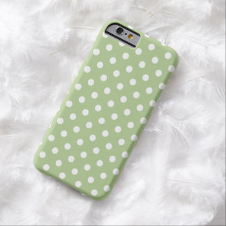 Polka Dot iPhone 6 case in Margarita Green Barely There iPhone 6 Case
