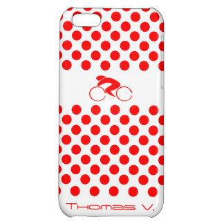 Polka Dot Jersey Case iPhone 5C Case