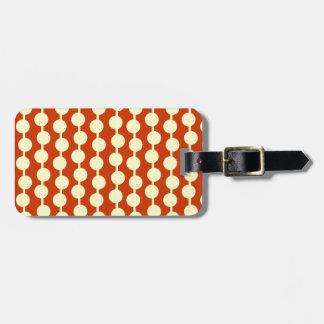 Polka Dot Travel Bag Tag