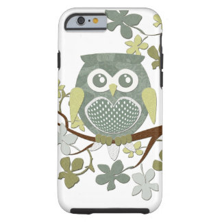 Polka Dot Owl in Tree Tough iPhone 6 Case
