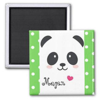 Polka dot Panda Magnet