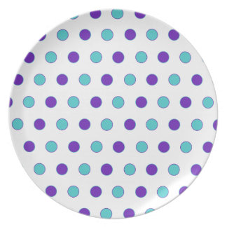 Polka Dot Parade Plate