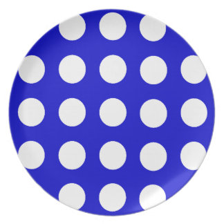 Polka Dot Party Plate