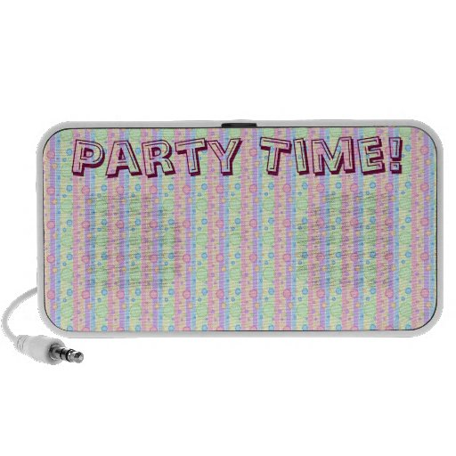 Polka Dot Party Travelling Speaker