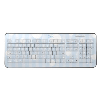Polka Dot Party Wireless Keyboard