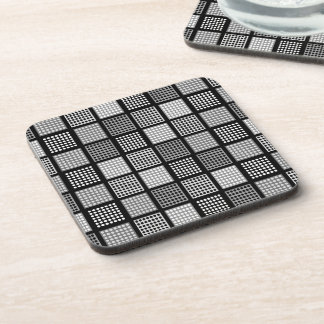 Polka Dot Patchwork Pattern Coaster