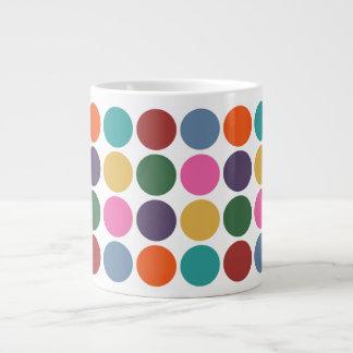 Polka Dot Pattern Jumbo Mug