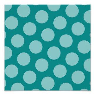 Polka Dot Pattern Photo Enlargement