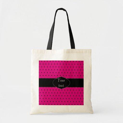 Polka Dot personalised bag