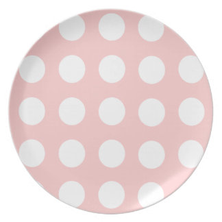 Polka Dot Party Plate