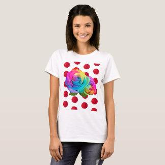 Polka-Dot Rose T-Shirt