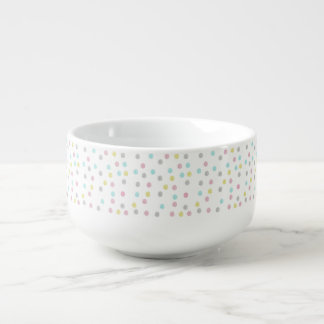 Polka Dot Soup Bowl