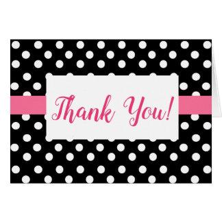 Polka-Dot Thank You Card