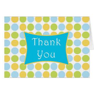Polka Dot Thank You Cards