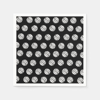 Polka Dot Volleyball Patten Paper Napkins