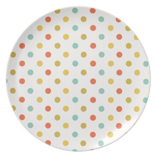 Polka-dots #2 party plate