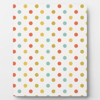 Polka-dots #2 plaque