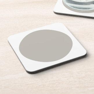 Polka Dots Aluminum Drink Coasters