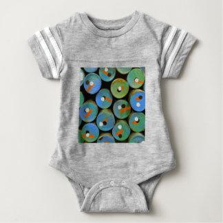 Polka dots baby bodysuit