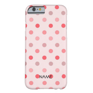Polka Dots Barely There iPhone 6 Case