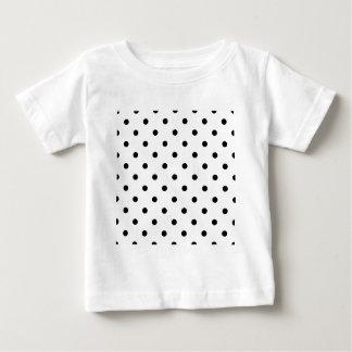 Polka Dots - Black on White Shirts