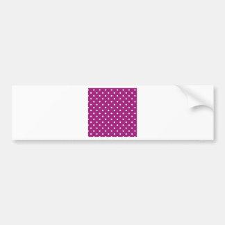 polka-dots bumper sticker