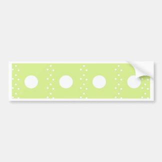 polka dots bumper sticker